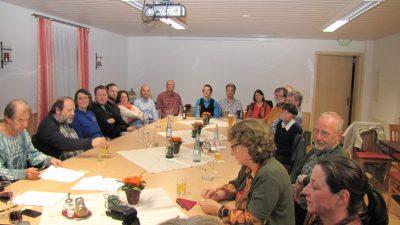 Bild der Nomminierungsversammlung von Bündnis/90/Die Grünen im Restaurant Andi's Steack Hüsli