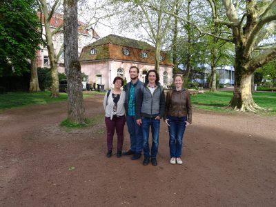 Von links nach rechts: Elke Rupprecht, Felix Straub, Sebastian Prigge und Marianne Merschhemke