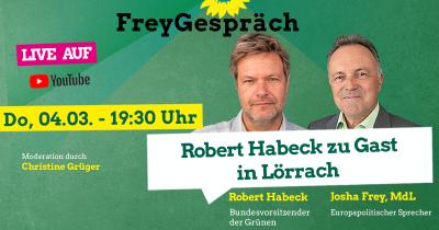 FreyGespräch mit Robert Habeck