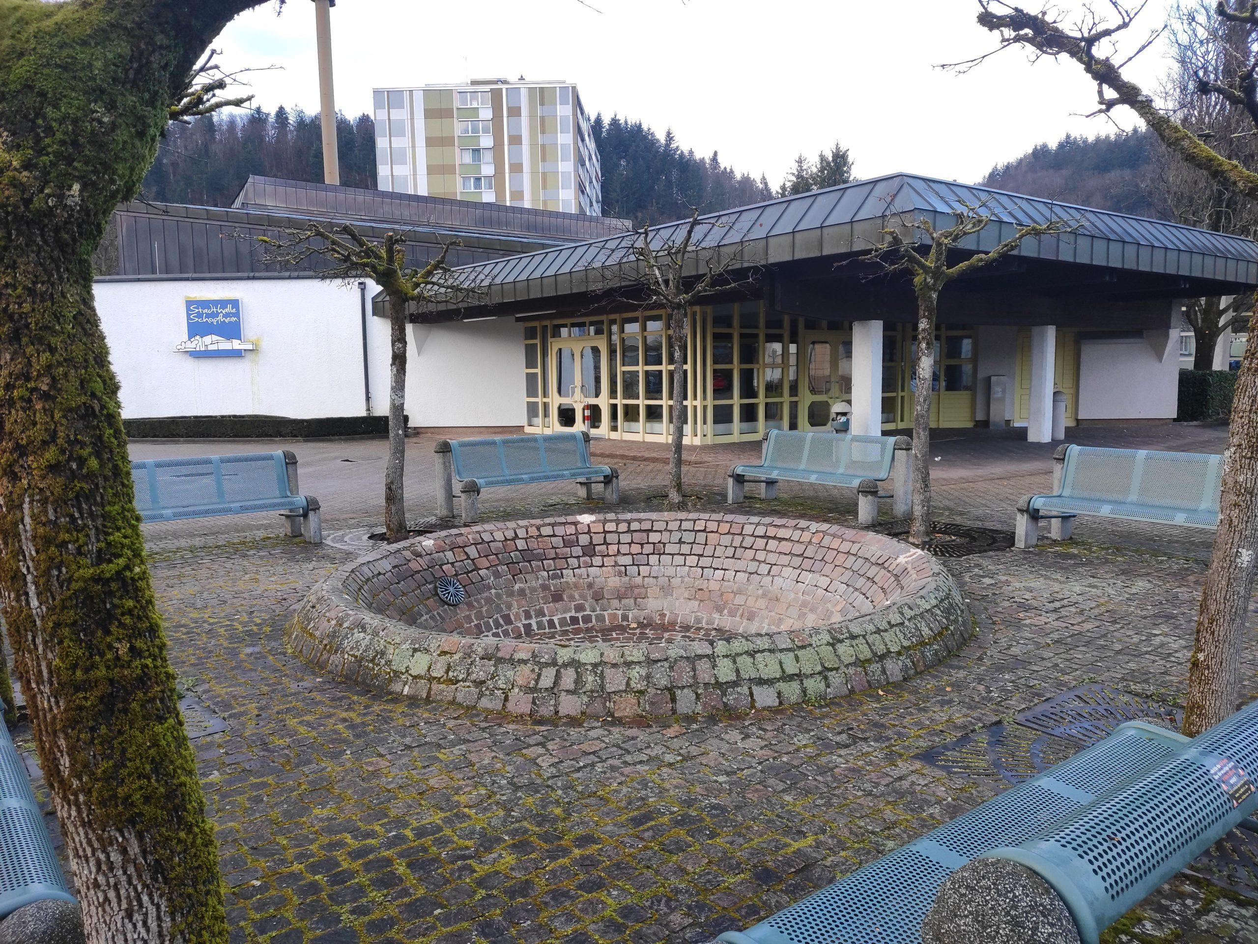 Bürger und Gewerbe retten Schopfheimer Brunnen